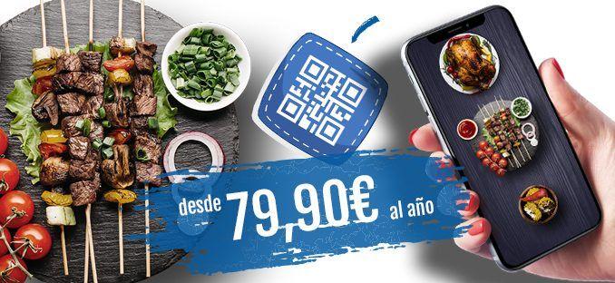 cartas digitales con codigo qr