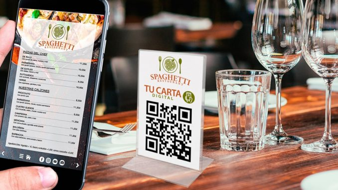cartas digitales para restaurantes